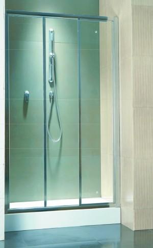 מקלחון חזית הזזה